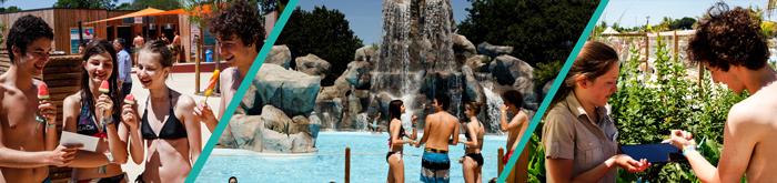 Suivez le parcours cashless de vacanciers à O'Gliss Park